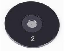 2µm Aperture Diameter, Mounted, Precision Pinhole, #56-273