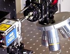488nm OBIS Laser in a Fluorescence Microscopy Application