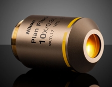 10X Objective, Nikon CFI Plan Fluor, #88-379