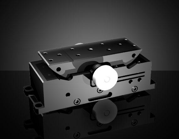 "EO Edmund Optics Mini Precision Optical X Axis Stage 0.5/"" Travel"